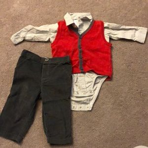 Carters 3 piece outfit.